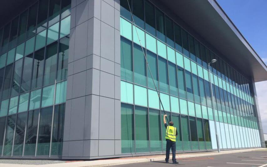 Manchester Commercial Window Cleaning Services