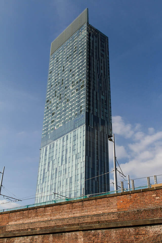 Beetham Tower window cleaning