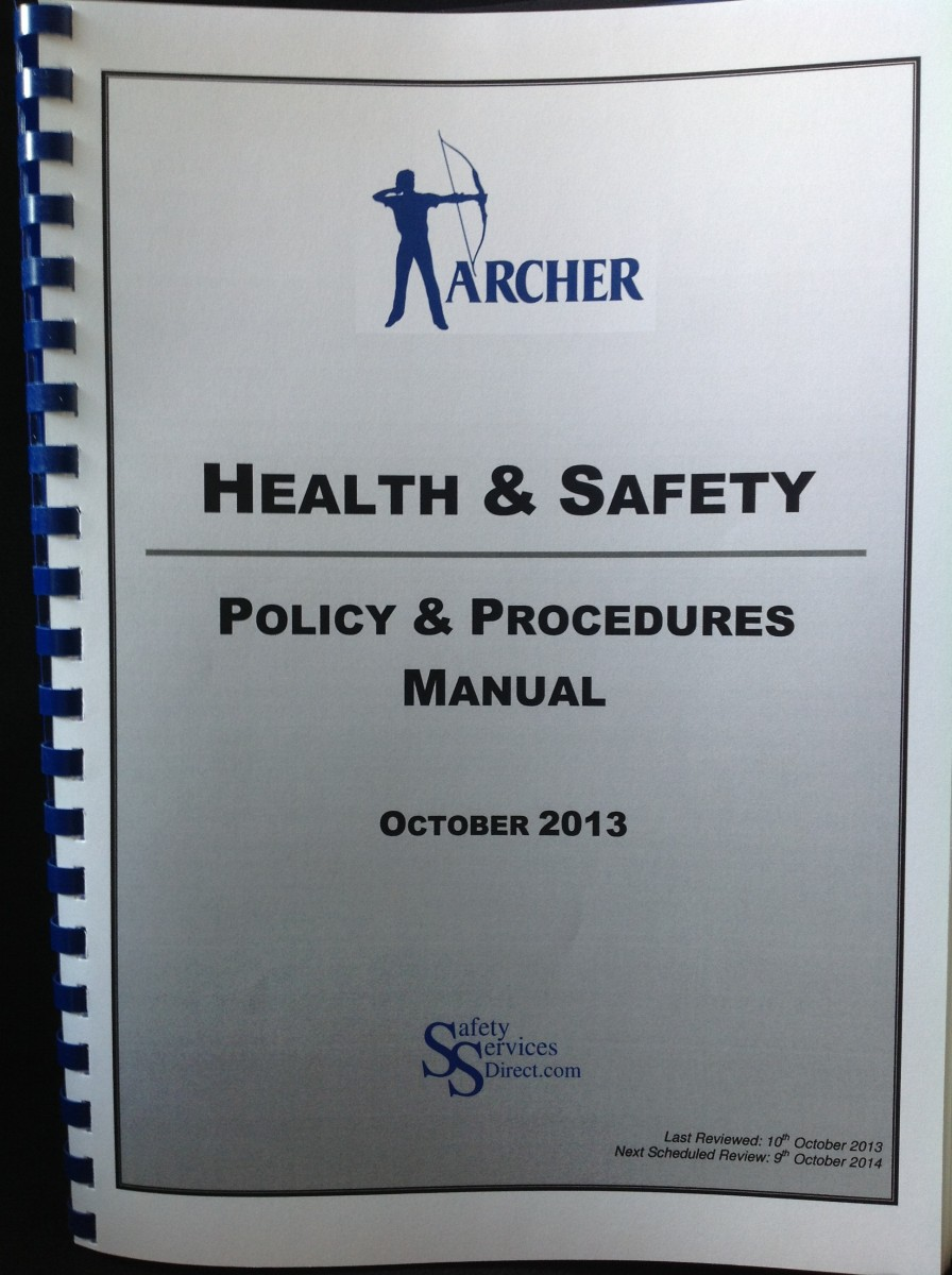Archer Health and Safety Policy