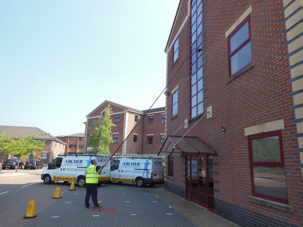 Window cleaning services in Warrington
