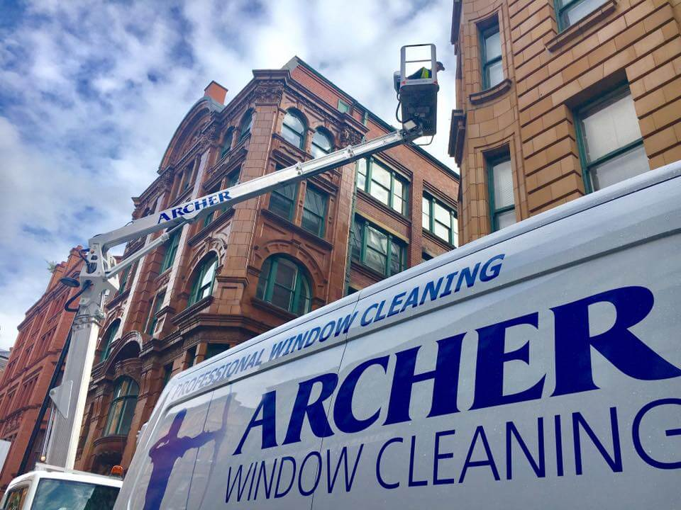 High level window cleaning Manchester