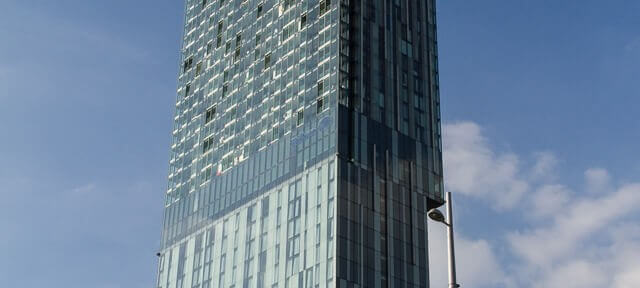 Window cleaning - Manchester Beetham Tower