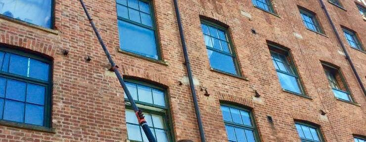 commercial property window cleaning services