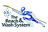 The Reach & Wash System logo