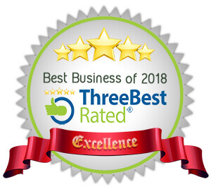 three best rated business 2018